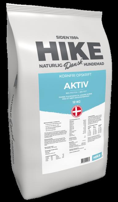 HIKE NATURE Active 30/26 kornfri hundemad 12 kg