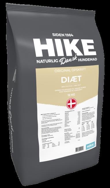 HIKE ORIGINAL Diet 24/10 hundemad 12 kg