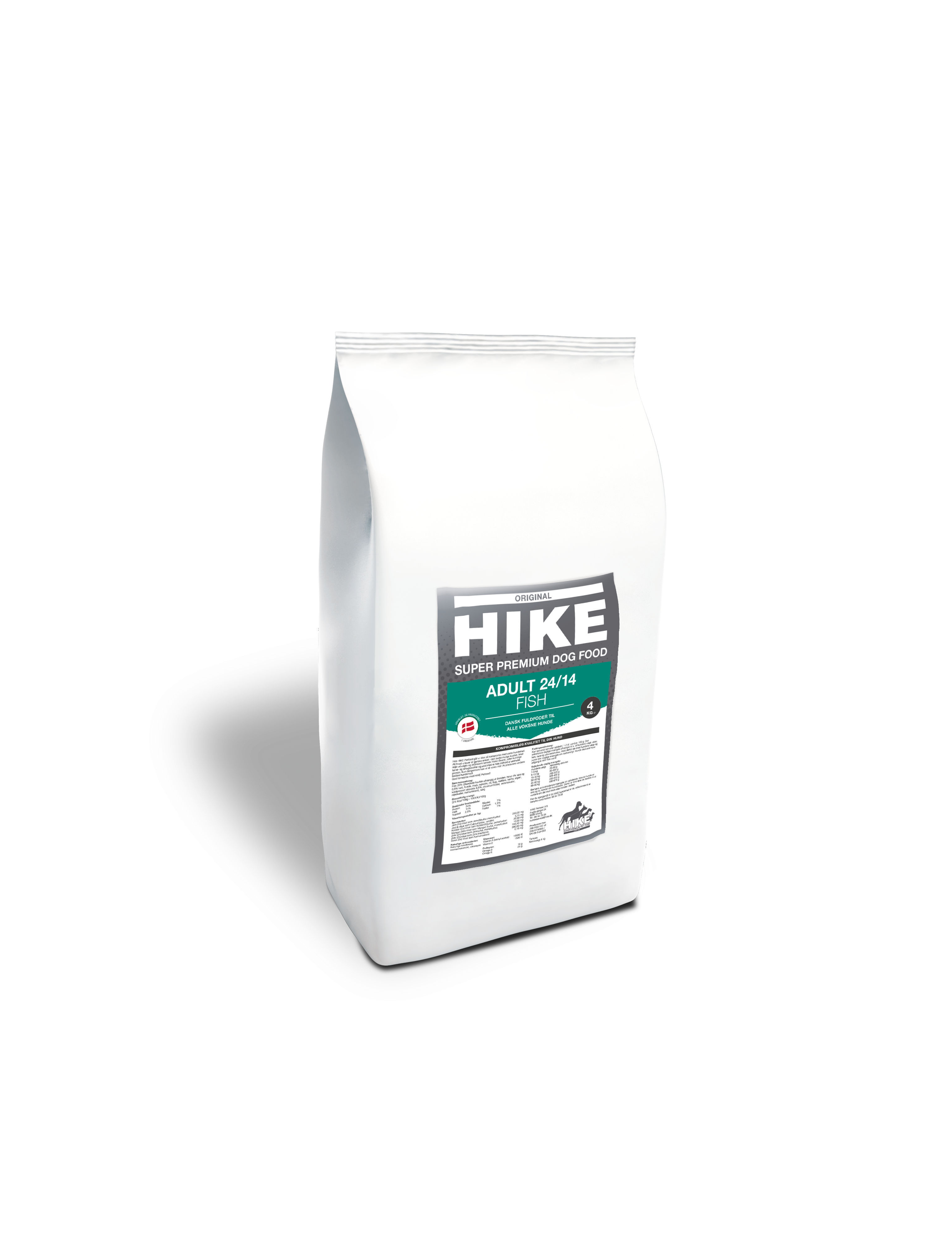 HIKE ORIGINAL Adult FISH 24/14 hundemad 4 kg