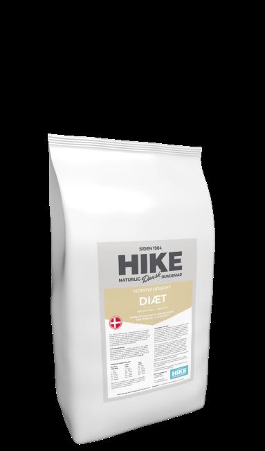 HIKE NATURE Diet 25/10 kornfri hundemad 4 kg