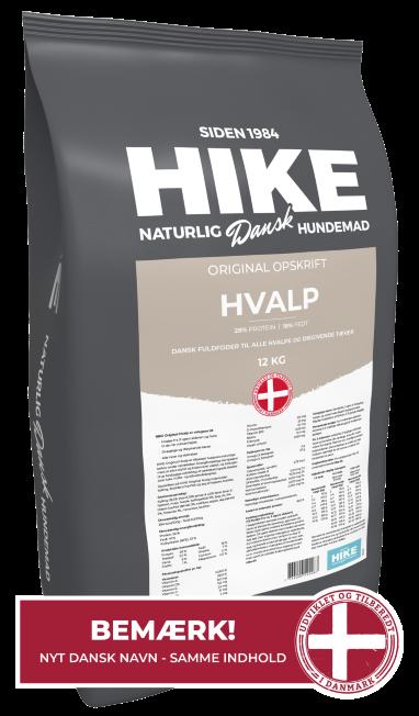 HIKE Original HVALP hundemad 12 kg