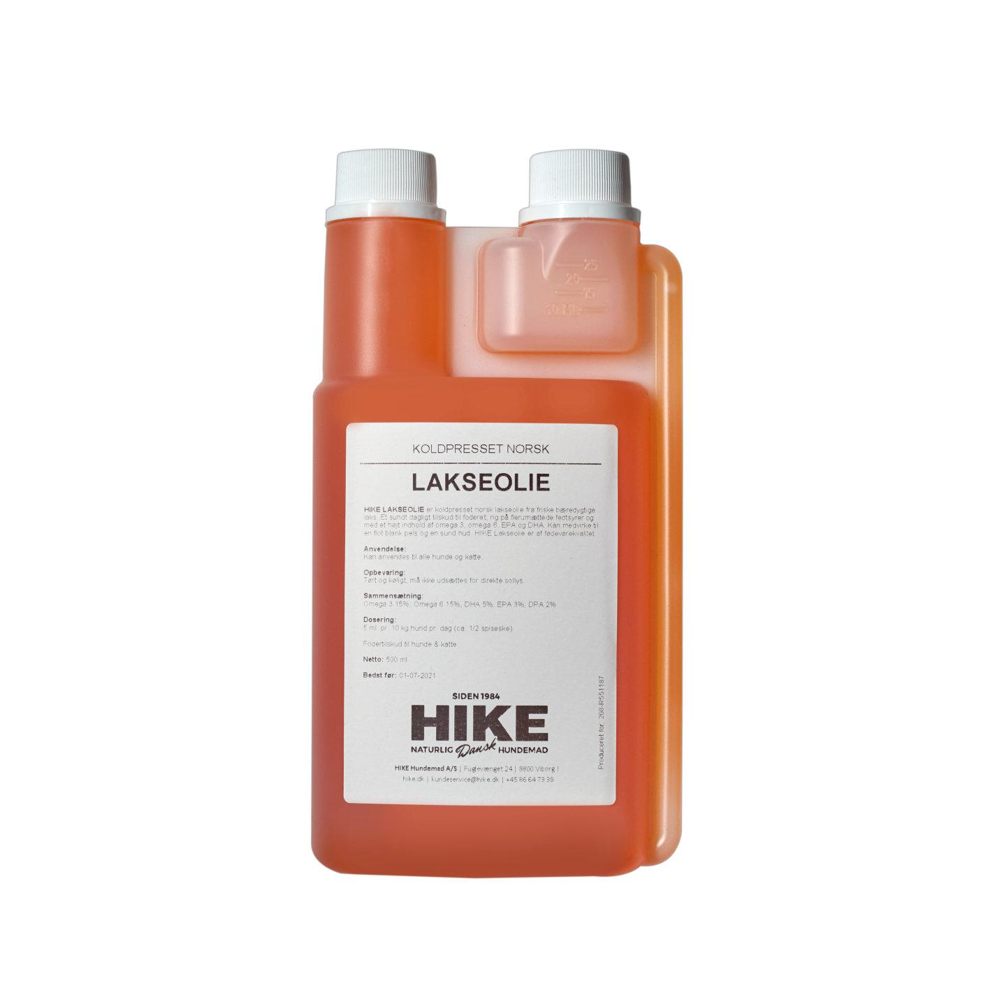 HIKE Lakseolie 500 ml