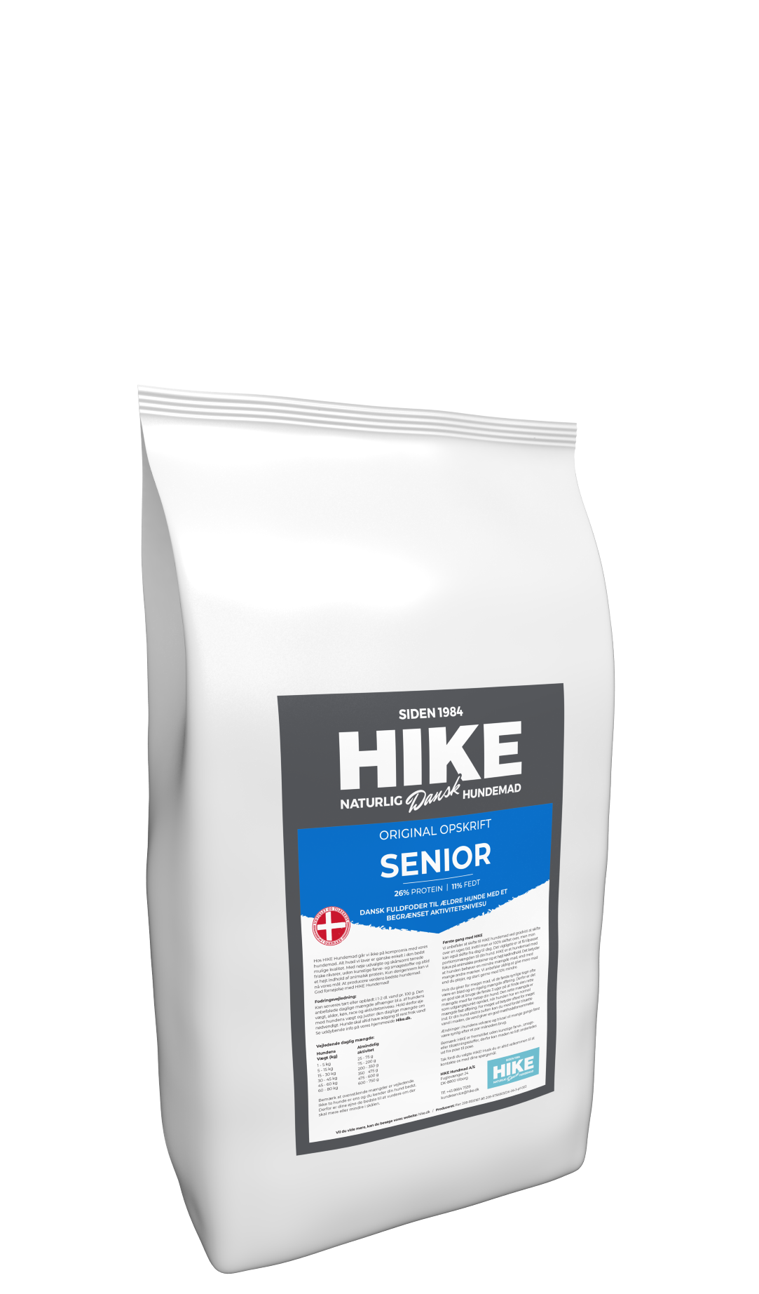 HIKE ORIGINAL Senior 26/11 hundemad 4 kg